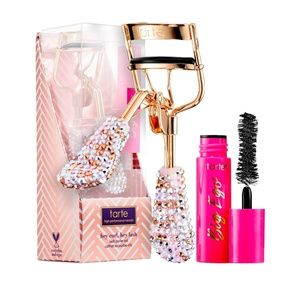 Its here!  Tarte mascara and eyelash curler